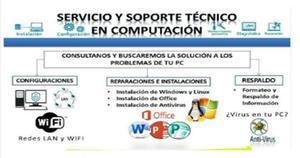Servicio Técnico Para Pc, Laptop.