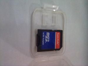 Adaptador Marca Sandisk A Micro Sd Grande