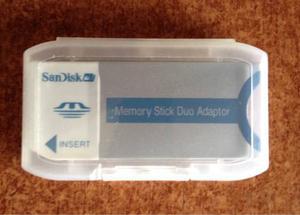 Adaptador Sandisk Memory Stick Dúo