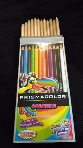 Colores Prismacolor 12 Und Ecologicos