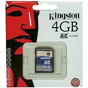 Kingston Tarjeta De Memoria Flash 4gb, Sdhc (clase 4)