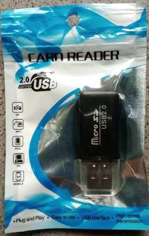 Lector Adaptador De Memoria Micro Sd