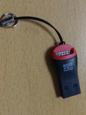 Lector De Memoria Micro Sd Tipo Pendrive