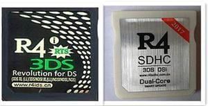 Memoria R4 Sdhc + Memoria 8gb Para Ds