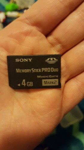 Memory Stick Pro Duo 4g Sony Para Camars Psp