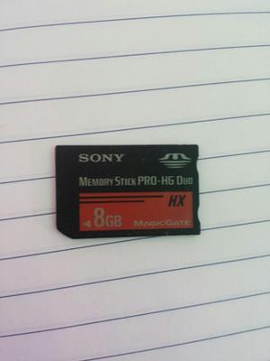 Memory Stick Pro Duo Sony 8gb