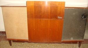 Mueble Tocadisco Antiguo Año  Con Obsequio
