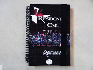 Agenda, Agenda Resident Evil, Resident Evil, Libreta, Diario