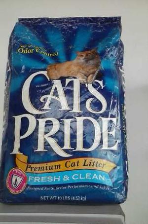 Arena Para Gatos Cats Pride Original Hecha En Usa