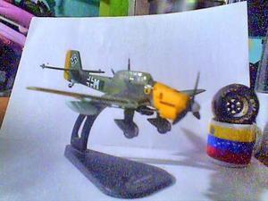 Avión De Colección Italery De Hierro Ju-87 R Stuka