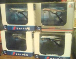 Aviones De Coleccion United Airlines Y American Airlines