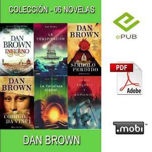 Colección - Dan Brown 07 Novelas Epub - Pdf - Mobi