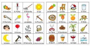 Lotería Para Niños De Educación Inicial Y Primaria