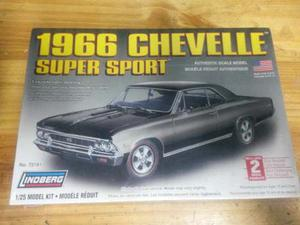 Modelo Para Armar Chevelle Super Sport