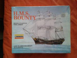Modelo Plastico Para Armar Barco H.m.s. Bounty
