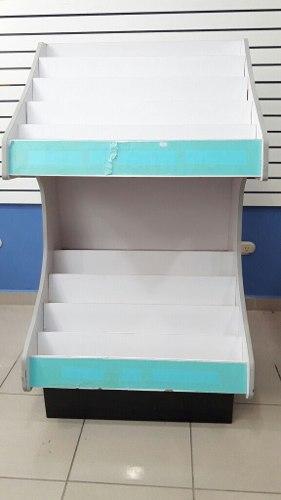 Mueble Exhibidor Madera Para Libros/revistas/tarjetas Remate