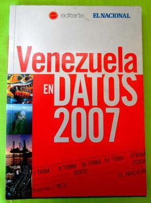 Venezuela En Datos Con Mousepad (libro Fisico) Envío Gratis
