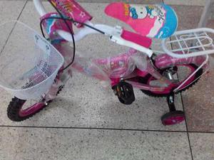 Bicicleta Rosada Rin 12 Hello Kitty