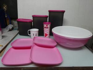 Bolsas Productos Tupperware,envases,plato, Vaso,ensaladera
