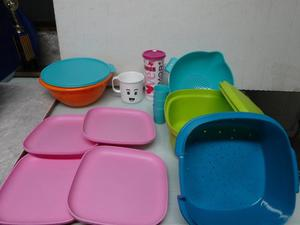 Bolsas Tupperware, Envases, Vasos, Ensaladeras,platos,