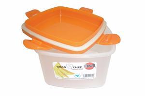 Conservadores De Alimentos Plástico Con Tapa