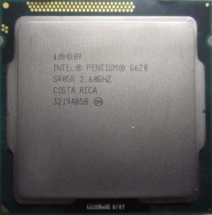Procesador Intel Pentium G620 Socket  Ghz