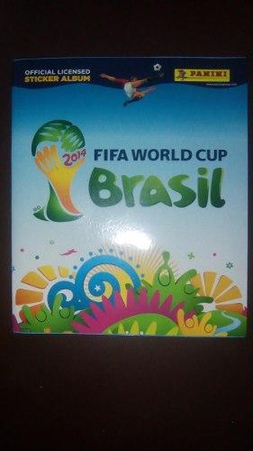 Album Mundial De Futbol Brasil  Panini