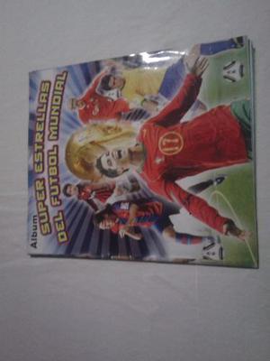 Album Super Estrellas Del Futbol Mundial, Casi Lleno