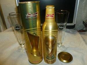 Botella Budweiser Edicion Limitada Copadelmundo Brasil