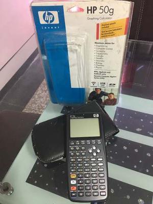 Calculadora Hp 50g Como Nueva Con Todos Sus Accesorios