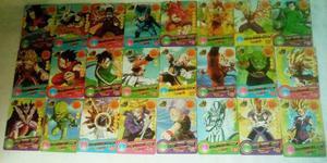 Colección De Tarjetas Dragon Ball. 24 Barajitas.