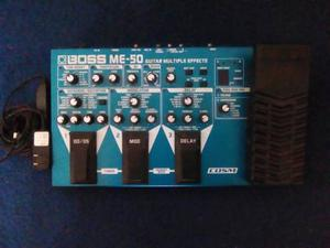 Pedalera Boss Me-50 Para Guitarra