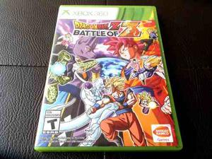 Dragon Ball Battle Of Z Original Fisico Para Xbox 360