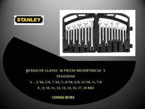 Juego De Llaves Stanley