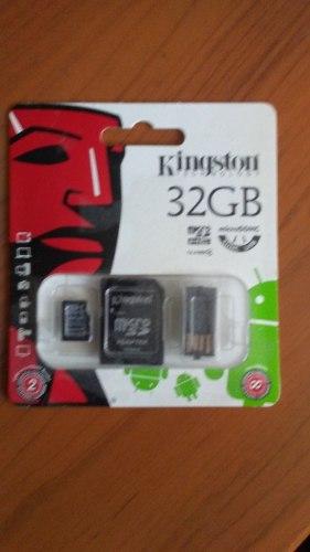 Memoria Micro Sd Kinstong 32 Gb Con Lector Usb