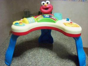 Mesa Didactica Para Bebe Con Motivo De Elmo Plaza Sesamo