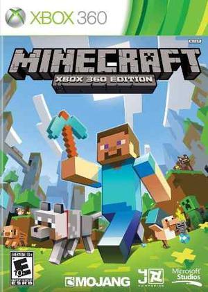 Minecraft Juego Para Xbox 360 Original