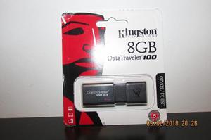Pendrive Kingston Datatraveler 100 G3 8gb Usb