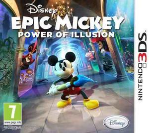 2 Juegos 3ds: Epick Mickey Y Ralph El Demoledor