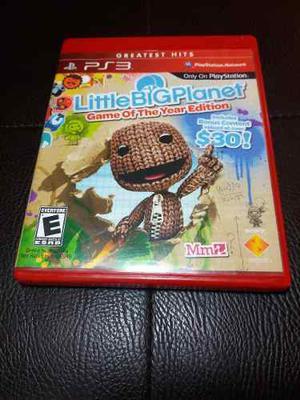 Juego Fisico Little Big Planet Original Playstation 3