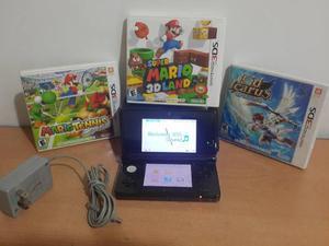 Nintendo 3ds + 3 Juegos Originales