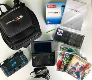 Nintendo 3ds Xl Con Accesorios Y Juegos