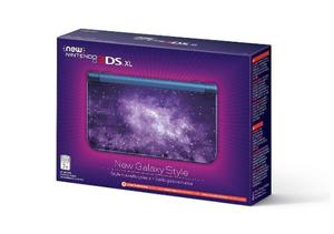Nintendo Ds 3ds Xl Modelo Galaxy Style