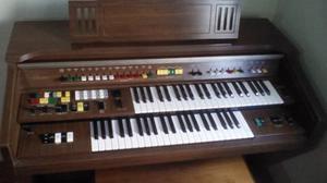 Organo Yamaha Electone En Madera Clasico