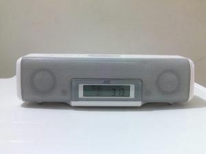 Radio Reloj Despertador Reproductor De Iphone Y Ipod Jvc