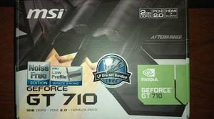 Tarjeta De Video Hdmi Vga Msi Nvidia Geforce Gtgb Ddr3
