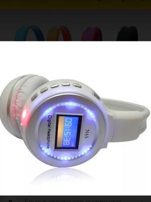 Audifonos Inalambricos Bluetooth Lector Memoria De Telefono