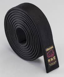 Cinturon Negro Bushido Y Guantines adidas