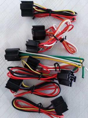 Conector Relay 5 Patas Para Corta Corriente Y Gps 4 Cable