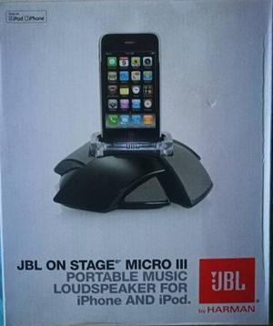 Corneta Portatil - Micro Jbl On Stage
